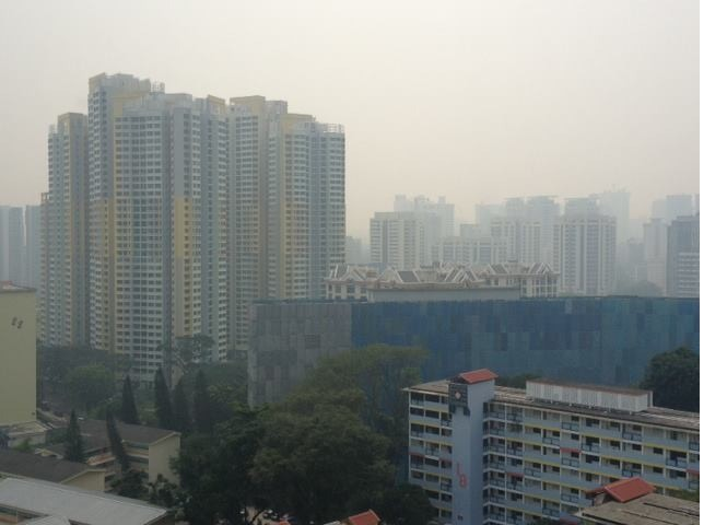 singapore haze 2013